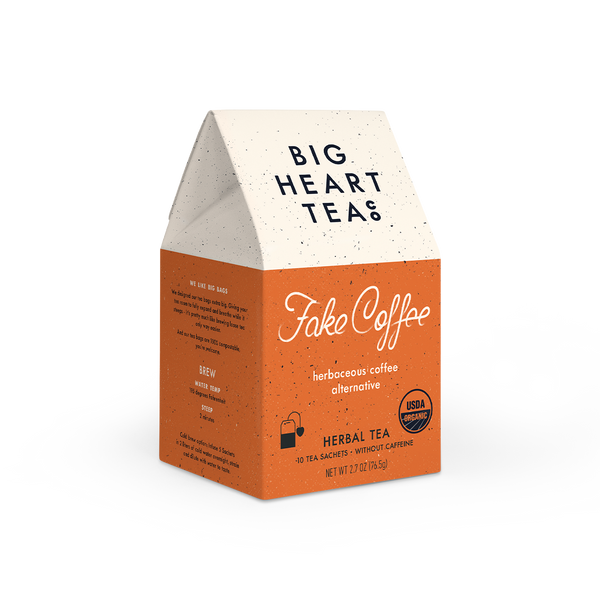 Fake Coffee Sips by Big Heart Tea Co