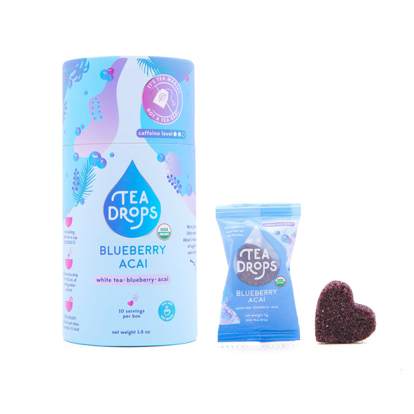 Blueberry Acai White Tea Drops