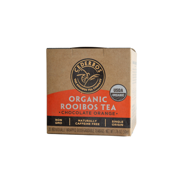Organic Chocolate Orange Rooibos Tea