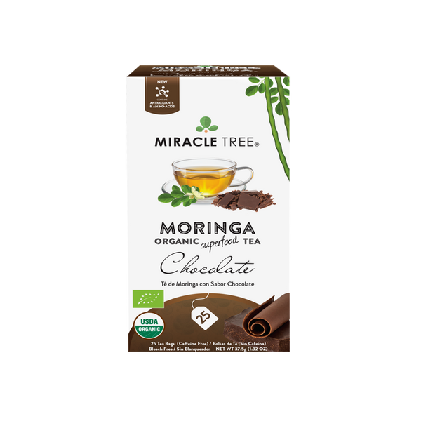 Organic Moringa Herbal Tea - Chocolate