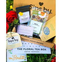 Load image into Gallery viewer, Floral Tea Box