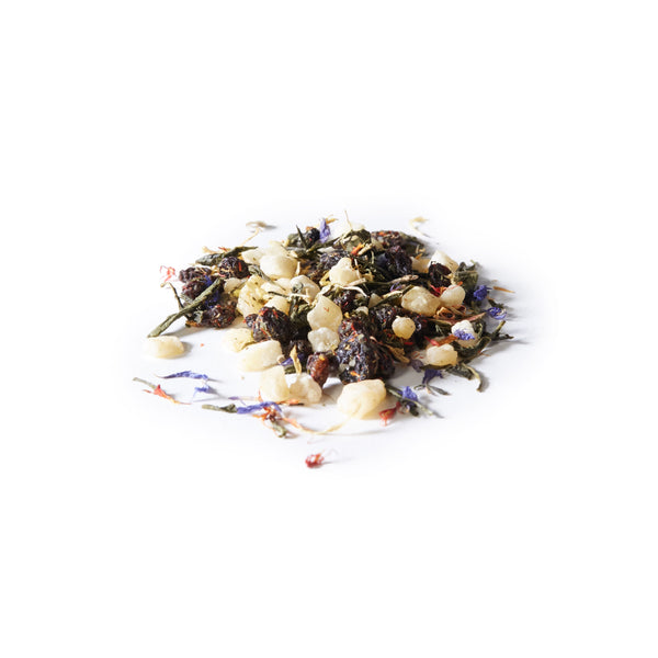 green passionfruit sips by davidstea green tea blend loose leaf