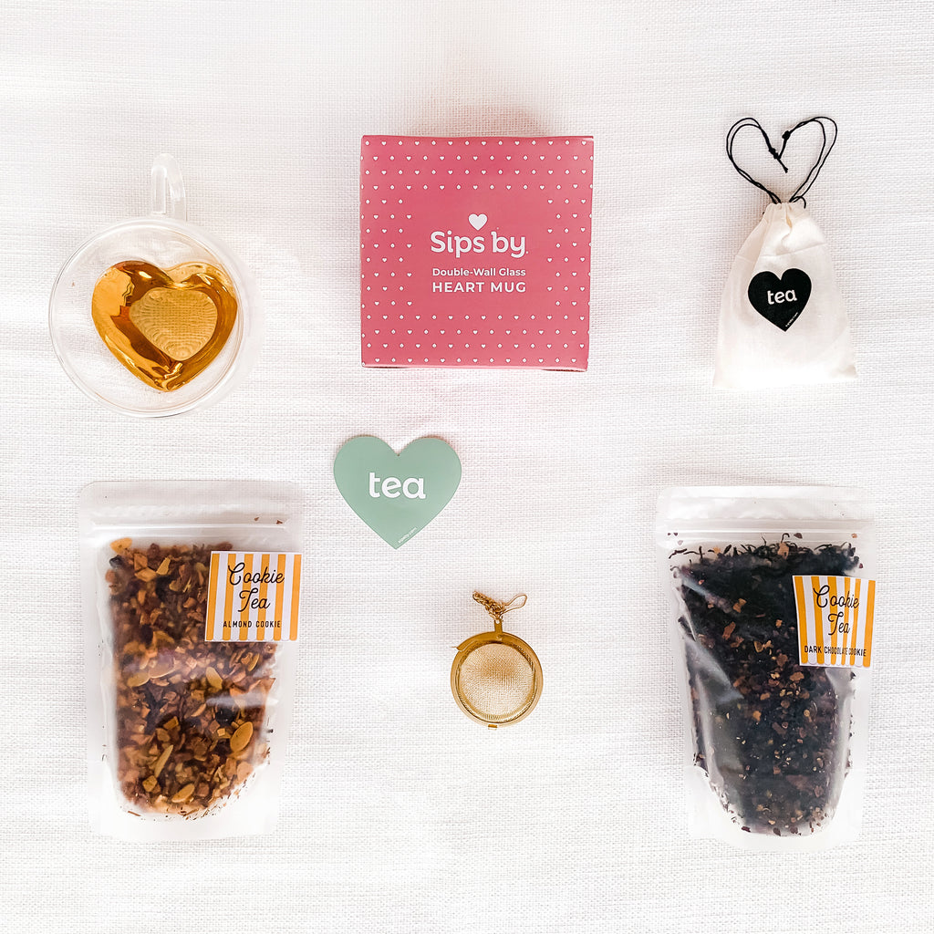 I Love You More Tea Kit Holiday Edition -  Sips by