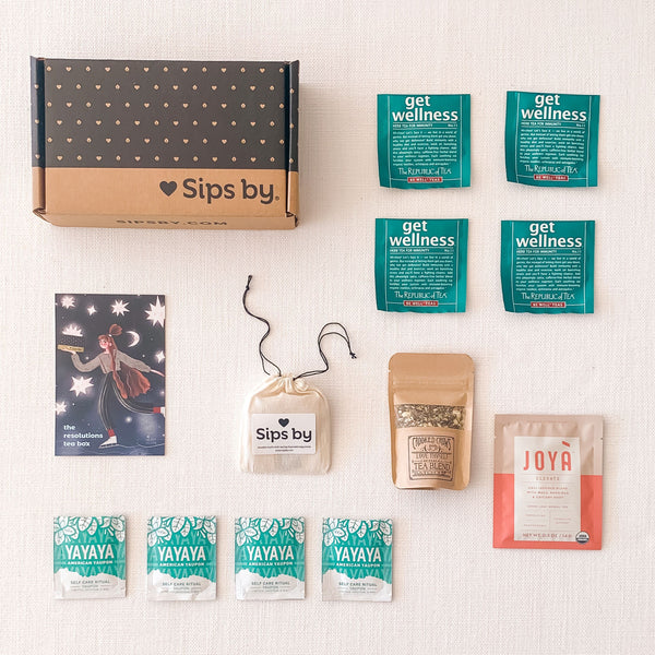 Resolutions Tea Box