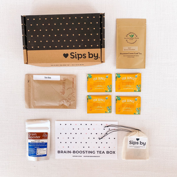 Brain-Boosting Tea Box