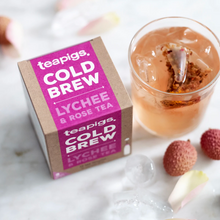 Load image into Gallery viewer, Lychee & Rose Cold Brew