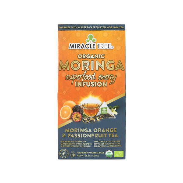 Organic Moringa Energy Tea - Orange Passionfruit