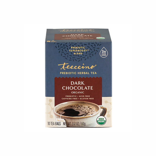Dark Chocolate Prebiotic Superboost Herbal Tea