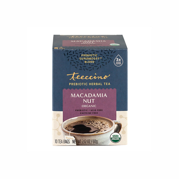 Macadamia Nut Prebiotic Superboost Herbal Tea