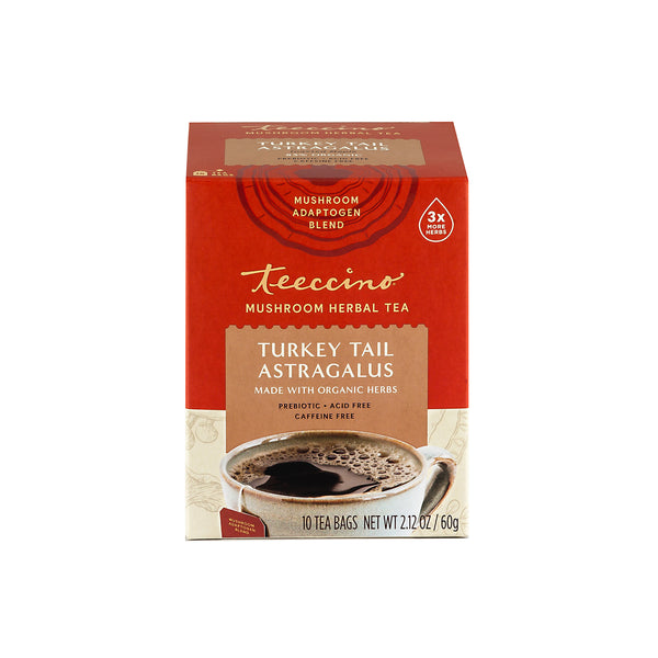 Turkey Tail Astragalus Mushroom Adaptogen Herbal Tea