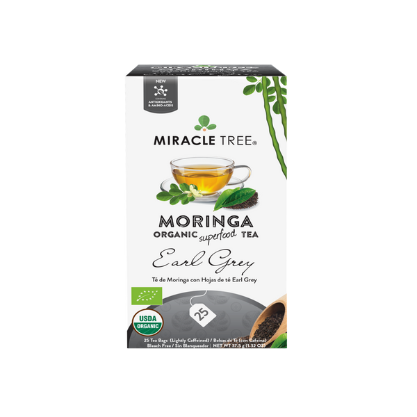 Organic Moringa Herbal Tea - Earl Grey