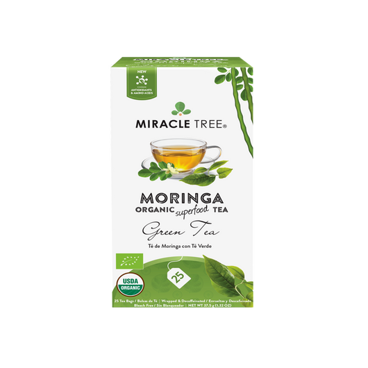 Organic Moringa Herbal Tea - Green Tea