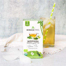 Load image into Gallery viewer, Organic Moringa Herbal Tea - Green Tea