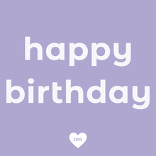 Load image into Gallery viewer, Birthday Tea Box