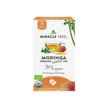 Load image into Gallery viewer, Organic Moringa Herbal Tea - Mango