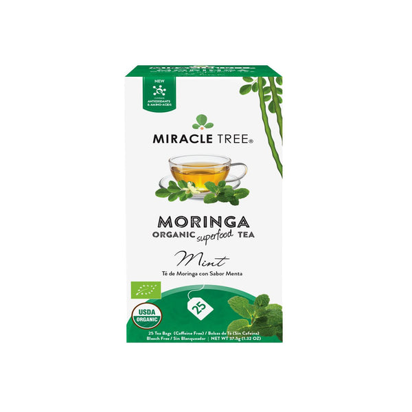 Organic Moringa Herbal Tea - Mint