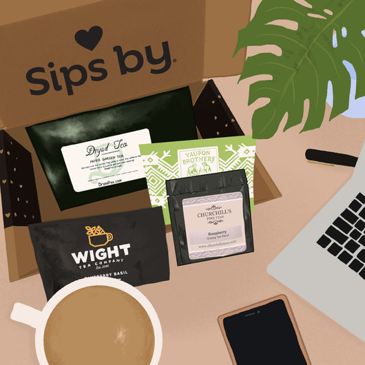 Small Business Tea Box