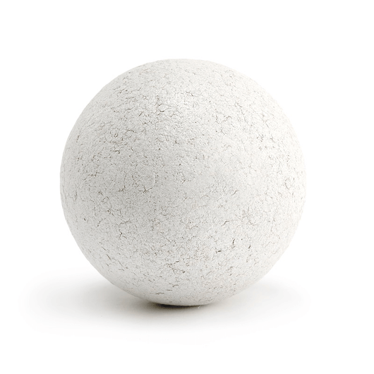 White Lacquered Cork Ball