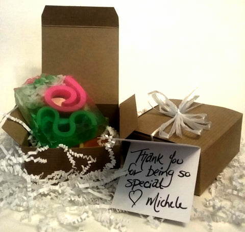 Gift for all your special people.  Everyone loves a gift of soap.  Be their favorite gift-giver
