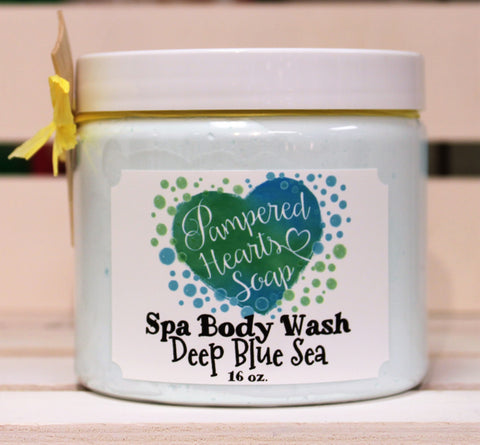 Deep Blue Sea Spa Body Wash
