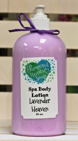 Lavender Heaven Spa Body Lotion