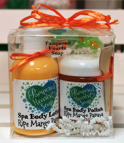Ripe Mango Papaya Spa Gift Pack