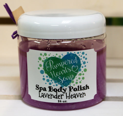 Lavender Heaven Spa Body Polish