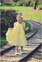 SEW FLOUNCY Tiered Pillowcase Dress Pattern - Easy Beginner Sewing - Flower Girl Dress Pattern
