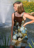Empire Dress, Sundress, Jumper or Top -Easy Teen Dress - SEW COOL  PDF Pattern xxs-2x  Plus Size