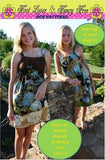 """SEW COOL"" Empire Dress, Sundress, Jumper or Top -Easy Teen Dress  Sizes XXS-2X"