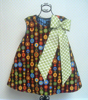 """Sew Big Bow"" Pattern  - Add to Pillowcase Dress, Jumper or Skirt"
