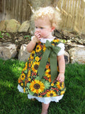 Combo Deal Reversible Aline Jumper Dress and Under Slip Patterns PDF Sewing Pattern 6M-6Child Back to School Fall