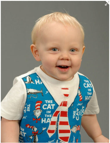Little Man T Shirt  Appliqued Vest or Suspenders with Assorted Ties PDF Pattern
