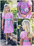 SEW CLASSIC Empire Waist Peasant Dress Pattern - Boho Style - Sizes 6m-14c