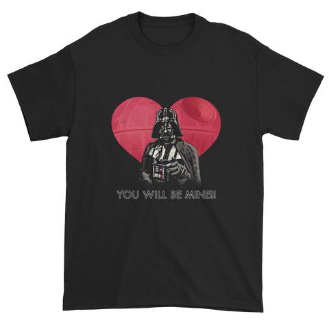Vader-tine's Day - Short sleeve t-shirt