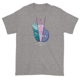 Aqua Teen Moonlight Force - Short sleeve t-shirt