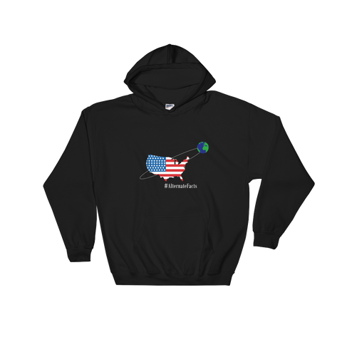 Earth Revolves Around? - Hooded Sweatshirt