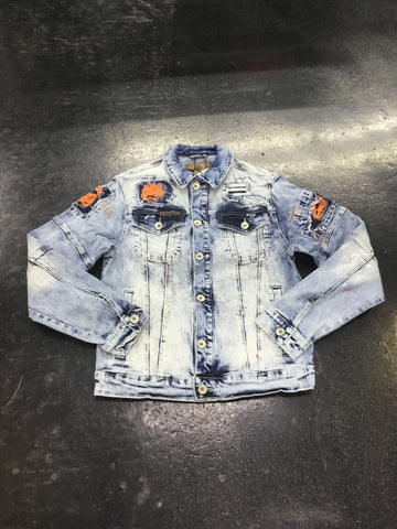Create 2MRW stretched denim jacket