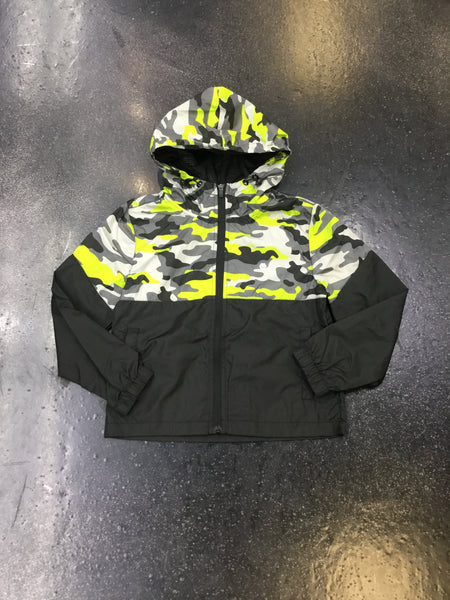 Elbowgrease Youth Camo Anorak Jacket