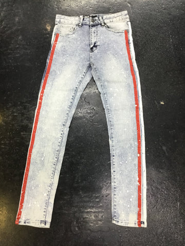 WAIMEA striped jeans