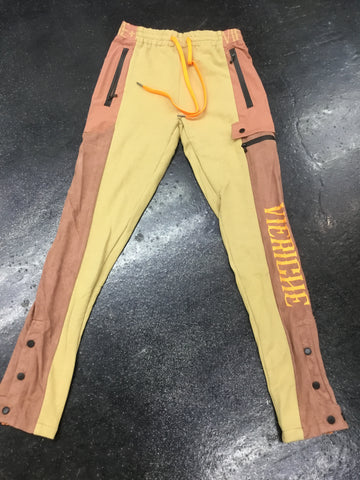 Vie Riche Mixed Media Tech Pants V2