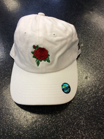 Trap house rose dad hat