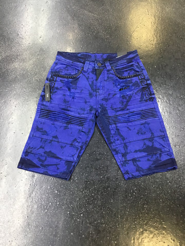 Elite Denim Royal Pyramids Shorts