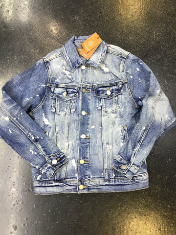 Crysp denim porter jacket