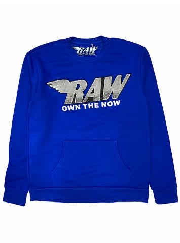 Rawyalty on the now Crewneck