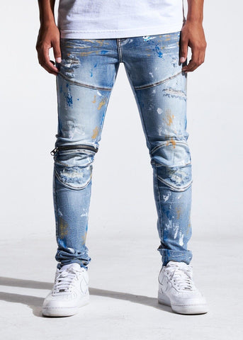 Crysp Denim Jean - Bart - Indigo Paint