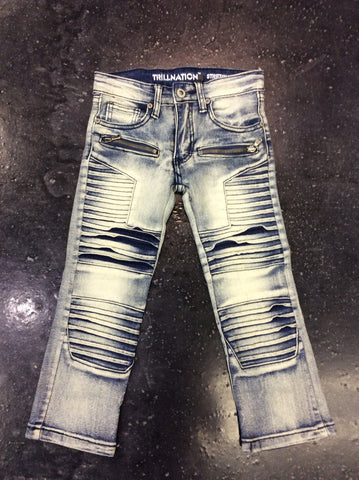The Plug Kids full biker jeans