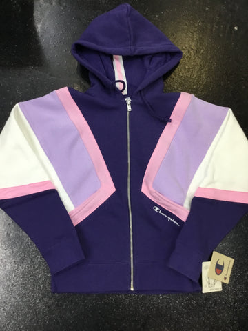 Champion Reverse Weave Colorblock Zip Hoodie