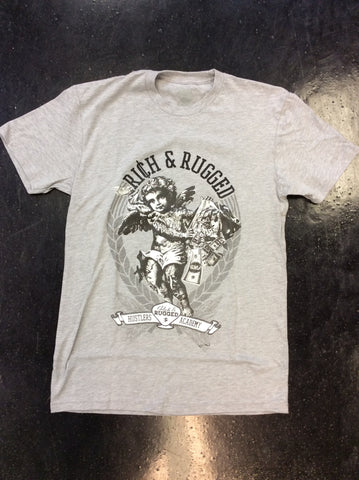 Rich & Rugged Hustler's academy tee
