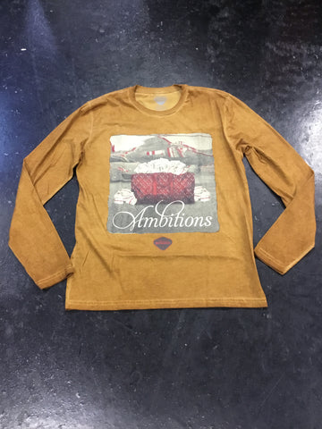 Rich and Rugged Ambitions Longsleeve Tee